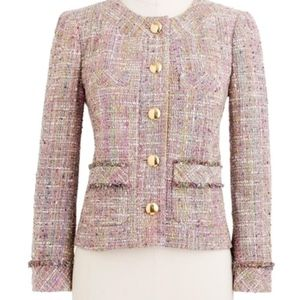 JCrew Confetti Tweed Jacket Blazer Sz 2
